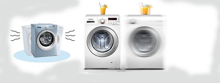 Máy giặt rung