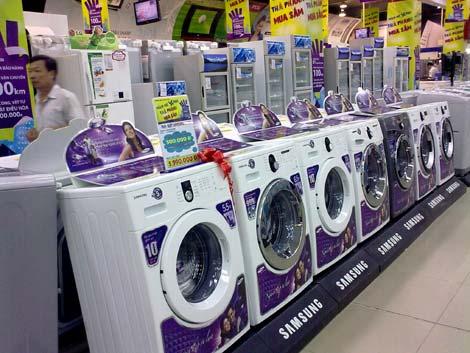 mua máy giặt