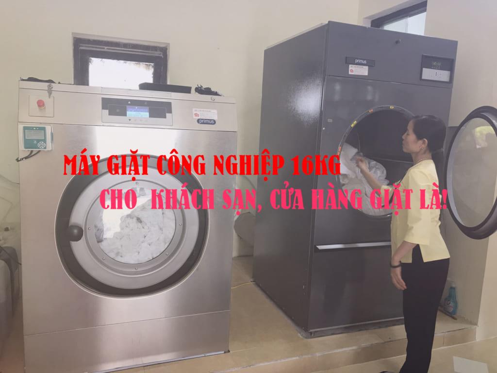 Máy giặt công nghiệp 16kg cho khách sạn, cửa hàng giặt là
