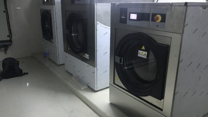 Máy giặt công nghiệp cho khách sạn Fagor