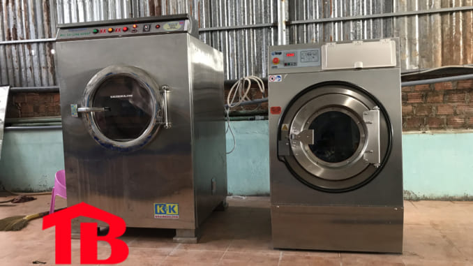 Máy giặt công nghiệp 40kg nhập khẩu