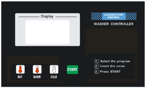 ưu điểm của máy giặt công nghiệp bảng điều khiển