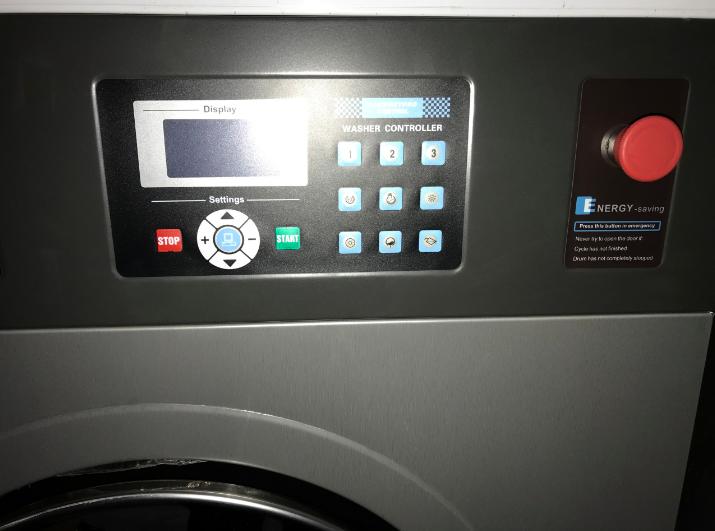 bảng điều khiển máy giặt công nghiệp Oasis