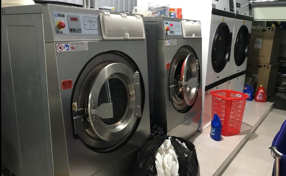 Hóa chất giặt máy giặt công nghiệp cửa ngang