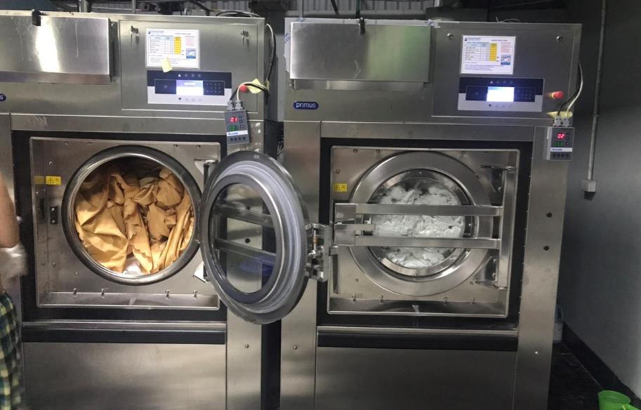 Công suất máy giặt công nghiệp