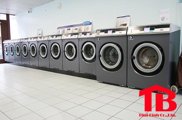 Thương hiệu máy giặt công nghiệp Mỹ