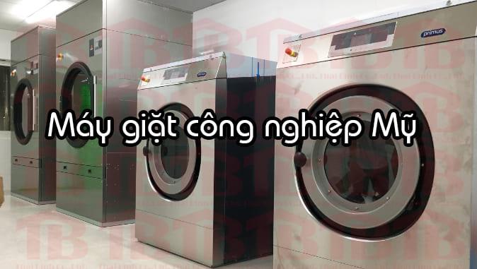may giặt công nghiệp Mỹ