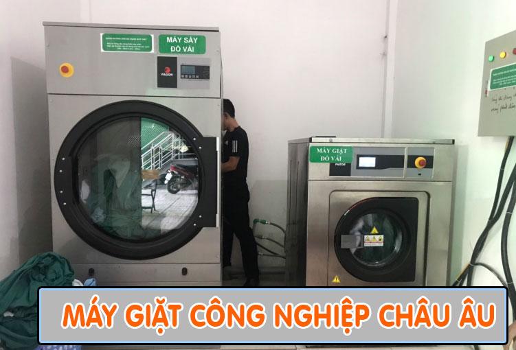 máy giặt công nghiệp Châu Âu