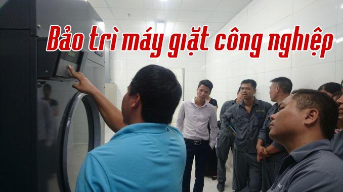 bảo trì máy giặt công nghiệp