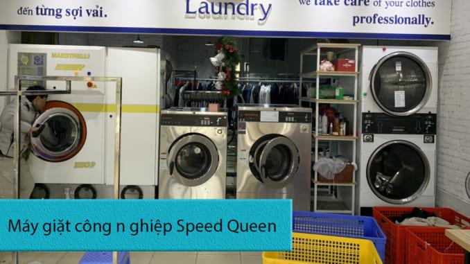 máy giặt công nghiệp chính hãng Speed Queen