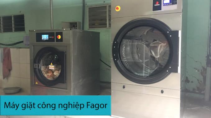 máy giặt công nghiệp chính hãng Fagor