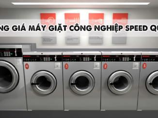 bảng giá máy giặt công nghiệp Speed Queen