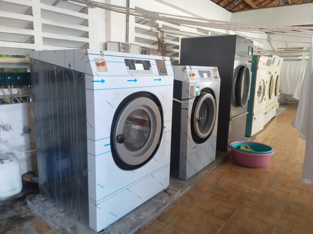Setup mô hình giặt là
