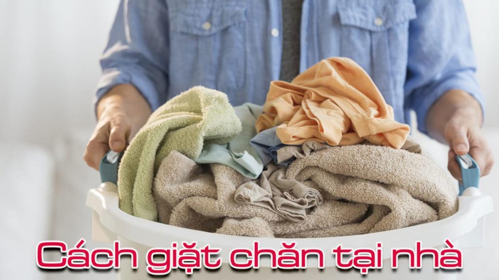 cách giặt chăn tại nhà